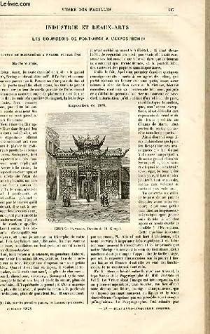 Le musée des familles - lecture du soir - livraison n°28 - Industrie et Beaux Arts - les bourgeois ...