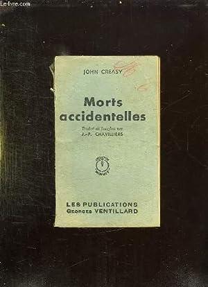MORTS ACCIDENTELLES.: CREASY JOHN.