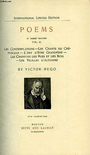 POEMS, VOL. I: LA LEGENDE DES SIECLES,: HUGO VICTOR
