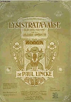 LYSISTRATA-VALSE: LINCKE Paul