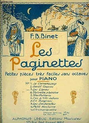 LES PAGINETTES: BINET F.B.
