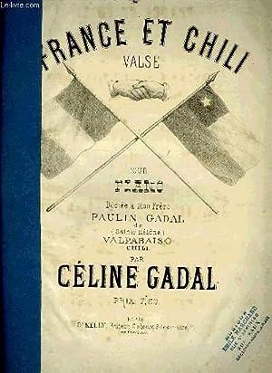 FRANCE ET CHILI: GADAL Céline
