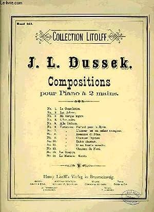 COMPOSITIONS POUR PIANO A DEUX MAINS: DUSSEK J.L.