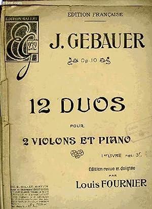 12 DUOS: GEBAUER J.