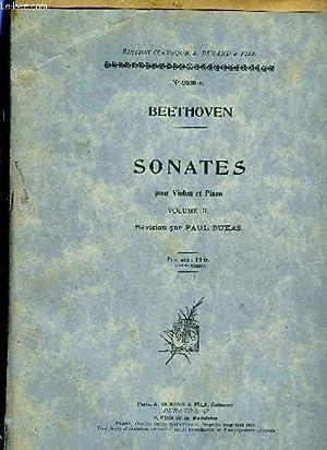 SONATES: BEETHOVEN