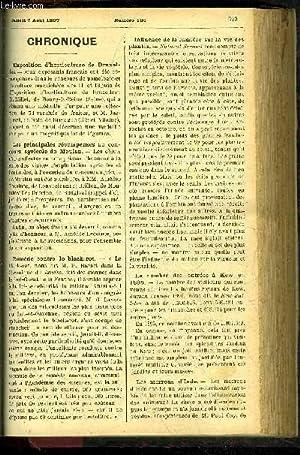 LE PETIT JARDIN ILLUSTRE N° 196 - Chronique ; Culture des adantium pour la vente, Désir&...