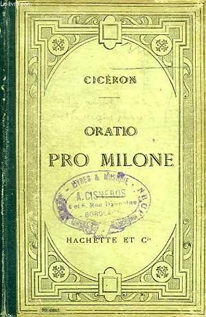 PRO T. ANNIO MILONE ORATIO AD JUDICES: TULLIUS CICERO MARCUS, Par P. MONET