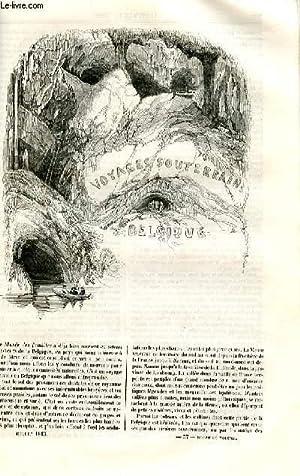 Le musée des familles - lecture du soir - deuxième série - livraison n°37 et 38 - Voyages ...