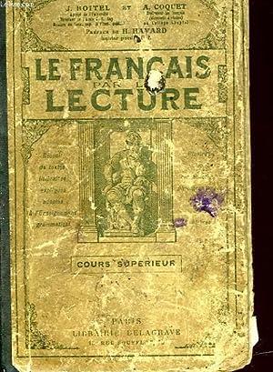 LE FRANCAIS PAR LA LECTURE: BOITEL J. ET COQUET A.