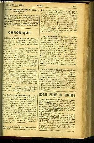 LE PETIT JARDIN ILLUSTRE N° 290 - Culture des Montbretia crocosmoeflora, par M. S. Mottet;...