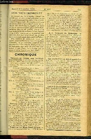 LE PETIT JARDIN ILLUSTRE N° 317 - La culture forcée des Jacinthes en appartements, par M...