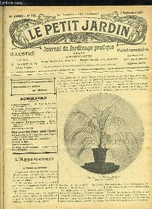 LE PETIT JARDIN ILLUSTRE N° 722 - L'Appartement. — Le Phéi ix de Rœbeleo, A. ...
