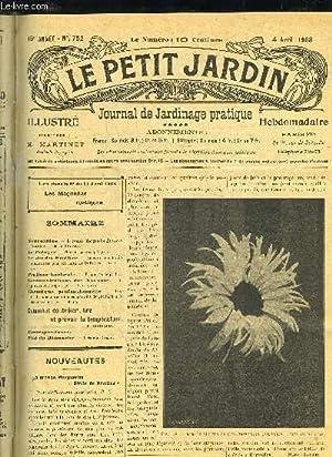 LE PETIT JARDIN ILLUSTRE N° 752 - Nouveautés». — La grande Marguerite É...