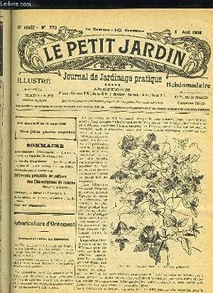 LE PETIT JARDIN ILLUSTRE N° 770 - Arboriculture d'ornement. — Comment on cultive les Clé...