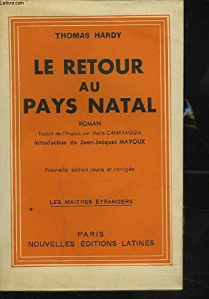 LE RETOUR AU PAYS NATAL: THOMAS HARDY