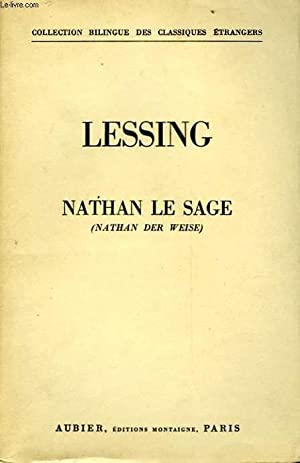 NATHAN LE SAGE - NATHAN DER WEISE: LESSING