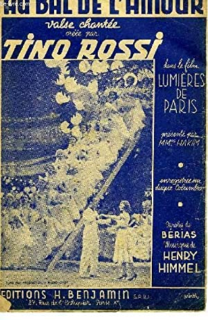AU BAL DE L'AMOUR: HIMMEL Henry / BERIAS