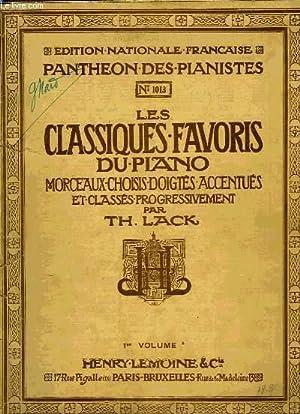LES CLASSIQUES FAVORIS DU PIANO: LACK Théodore
