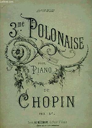 3EME POLONAISE: CHOPIN