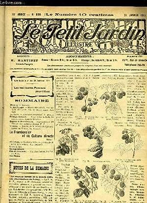 LE PETIT JARDIN ILLUSTRE N° 898 - Notes de la Semaine.Jardin Potager. — Moyen très ...