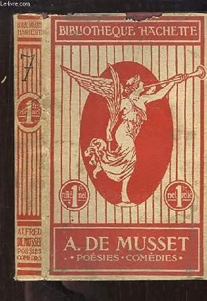 Poésies et Comédies.: MUSSET Alfred de