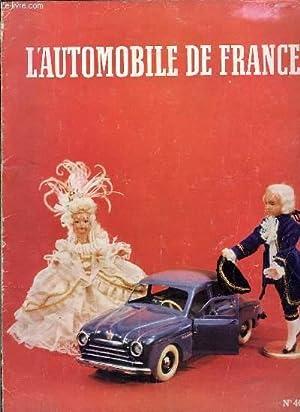 L'Automobile de France N°46 : Renault au Salon de l'Automobile - Sa Majesté leJouet - La ...