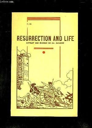 TROISIEME ROMAN ANGLAIS. RESURRECTION AND LIFE. TEXTE EN ANGLAIS.: DICKENS CH.