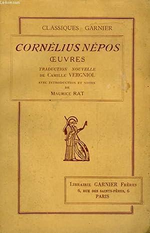 CORNELIUS NEPOS OEUVRES: NEPOS CORNELIUS