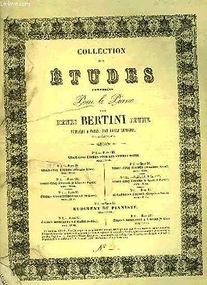 25 ETUDES POUR PIANO: BERTINI Henri