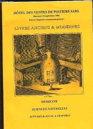 CATALOGUE HOTEL DES VENTES : LIVRES ANCIENS: COLLECTIF