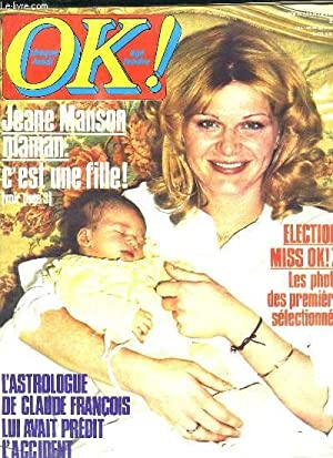 OK N° 116 AVRIL 1978. SOMMAIRE: JEANE: COLLECTIF.