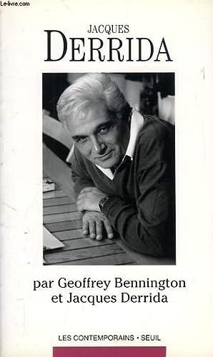 JACQUES DERRIDA: BENNINGTON GEOFREY, DERRIDA