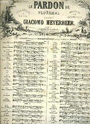 LE PARDON DE PLOERMEL: MEYERBEER G.