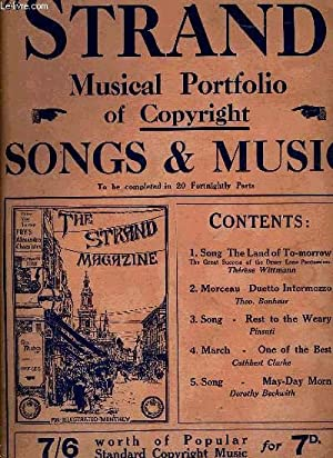 STRAND N°16, MUSICAL PORTFOLIO OF COPYRIGHT, SONGS & MUSIC: COLLECTIF