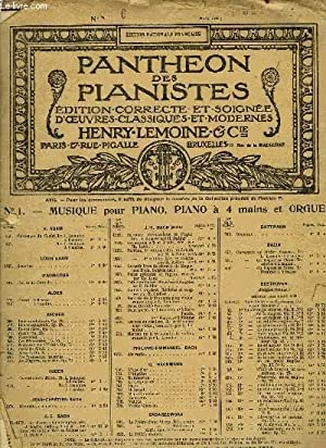 PANTHEON DES PIANISTES N°6: COLLECTIF