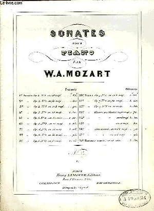 SONATES POUR PIANO: MOZART