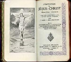 L'IMITATION DE JESUS-CHRIST - N°1452 - TRADUCTION: COLLECTIF / DE