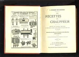 LES RECETTES DU CHAUFFEUR: L. BAUDRY DE