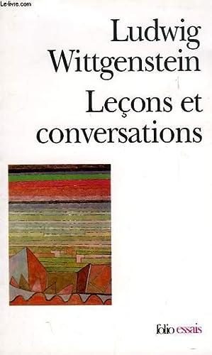 LECONS ET CONVERSATIONS SUR L'ESTHETIQUE, LA PSYCHOLOGIE: WITTGENSTEIN LUDWIG