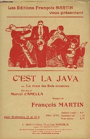 C'EST LA JAVA: MARTIN François /