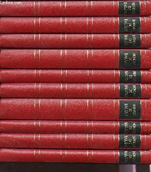 COLLECTION DE 10 VOLUMES DE HONORE DE BALZAC.: DE BALZAC H.