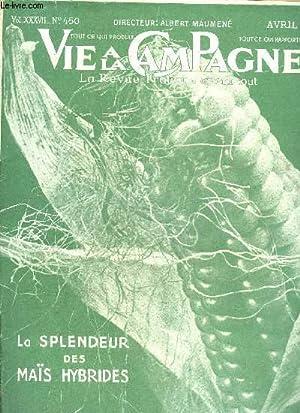 VIE A LA CAMPAGNE N° 450 -: COLLECTIF