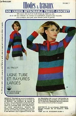 Tricot-Crochet de Février 1977 : Ligne tube: COLLECTIF