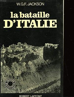 LA BATAILLE D'ITALIE: JACKSON W.G.F.