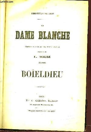 LA DAME BANCHE: BOIELDIEU