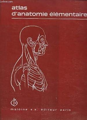 Atlas d'Anatomie Elémentaire.: COLLECTIF