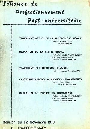 JOURNE DE PERFECTIONNEMENT POST-UNIVERSITAIRE (REUNION): COLLECTIF