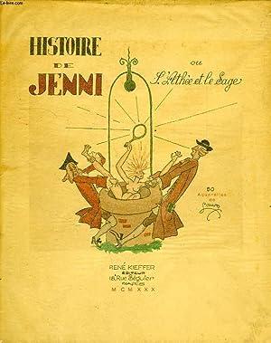 HISTOIRE DE JENNI, OU L'ATHEE ET LE SAGE: VOLTAIRE, Par M. DE LA CAILLE