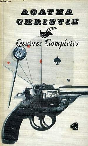OEUVRES COMPLETES, VOL. 4: CARTES SUR TABLE, MORT SUR LE NIL, L'HEURE ZERO, N. OU M. ?: ...