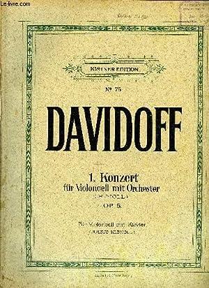 1. KONZERT FUR VIOLONCELL MIT ORCHESTER: DAVIDOFF